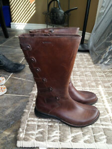 New Merrell Leather Boots Brown Women Size 7 Strathcona County Edmonton Area image 5