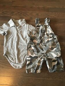 Boys Oshkosh outfit- size 24 months- like new-$8