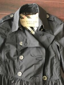 Burberry black trench excellent condition - $400 - US4