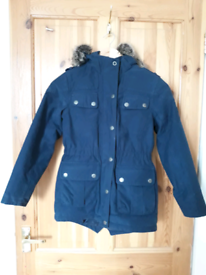 Girls Barbour Waterproof and Brathable jacket size 8/9 / M