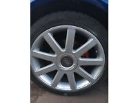 Wheels audi passat golf Bora