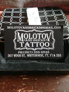 Molotov and Bricks Tattoo Gift Card