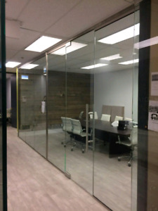 Glass partition& walls for home & office