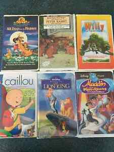 Disney Movies , VHS tapes