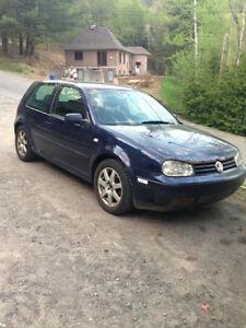 2001 Volkswagen Golf 2 porte manuelle