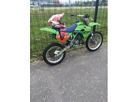 Kawasaki kx 100cc dirt bike