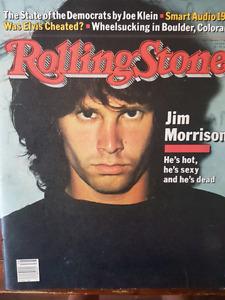 Jim Morrison Rolling Stone Magazine 1981