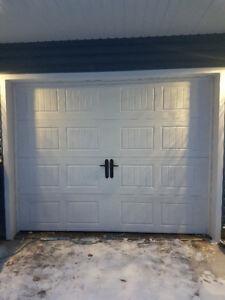 9x7 Steel Garage Door (R-Factor of 19!!)