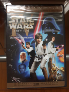 Star Wars A New Hope Limited Edition Widescreen DVD Movie