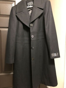 New Canadian made wool coat