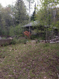 Terrific 4.32 Acre wooded residential lot close to Bancroft.