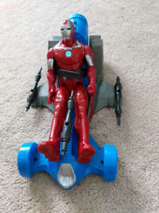 Iron man, trucks and other toys