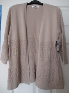 Ladies Open Front Cardigan (brand new with tags)