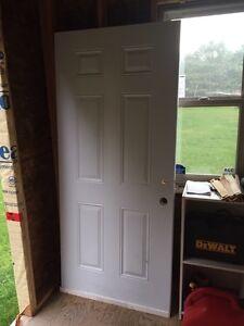 """new 36"""" steel door only"""
