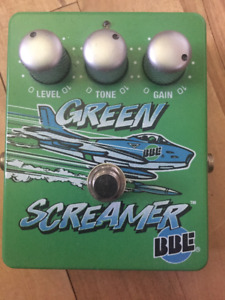 BBE Green Screamer Overdrive
