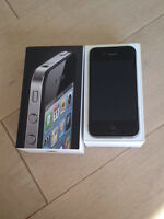 Black iPhone 4s 16Gb  Bell Network