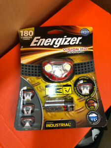 Energizer LED Bike Headlight + 3AAA batteries