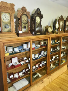 Large assortment of Watches and Clocks Macklem House Antiques
