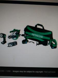 Hitachi Power Tool set (no bag)
