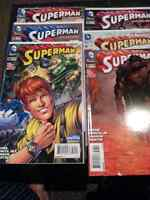 Superman issues 31-37