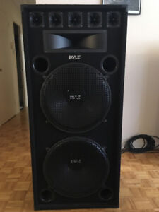 4 Quality 18inch Sound speakers