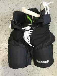 Reebok pants//Bauer chest protector//Easton elbow pads