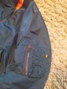 MA-1 Dark Blue Bomber Jacket Windsor Region Ontario image 1