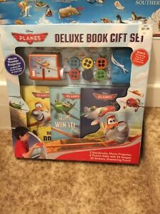 New Disney Planes book gift set projector