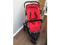 Quinny buzz red stroller in great condition