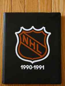 1990 - 1991 Kraft Hockey Special Edition Album