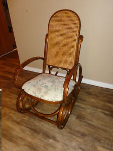 Very Confortble Antique Rocking Chair made of Solid Wood.  the C London Ontario image 1