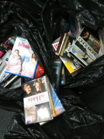 Over 200 Dvds.