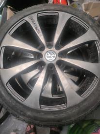 """VW 17"""" full set (x4) alloys"""