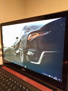 Dell Gaming Laptop 15 inch 4k Touch (i7, 16gb RAM, 256 SSD + 1TB