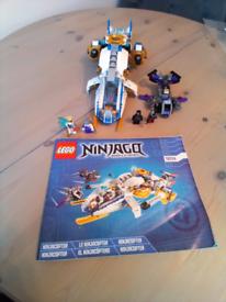 Lego Ninjago ninjacopter set 70724