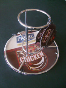 BEER CAN CHICKEN ROASTER - NEW