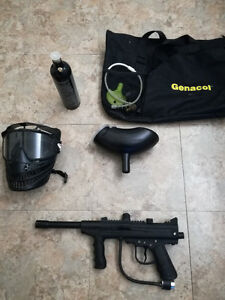Paintball + Mask + Air tank (Negotiable)