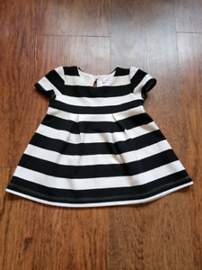 Size 3 to 6 month baby girl dress