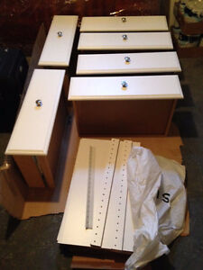 Martha Stewart Living Closet Parts - White