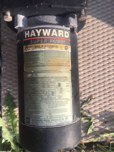 Pool Pump - Hayward - 3/4 HP - needs new capacitor?
