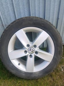 Mags Volkswagen 16'' - Pneus hiver cloutés Toyo Observe G3 Ice