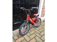 Raleigh Mini Racer Bike (14inch wheels)