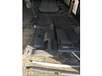 VW transporter t5 caravelle / shuttle interior panels / interior