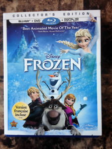 Disney's FROZEN Special Collector's Edition BLU-RAY HD