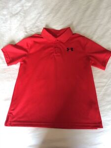 Under Armour Golf Shirts - Size Youth L Peterborough Peterborough Area image 2