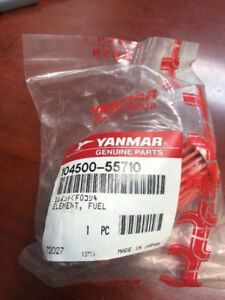 GENUINE YANMAR MARINE FUEL FILTER 104500-55710