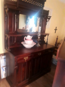 Antique buffets.  Two different mint shape