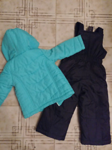 George 2 Piece Snowsuit 2T / 3T