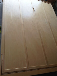 Great Condition solid wood Double Murphy BED!