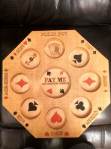 Rummoli Game Board, Hand Painted -perfect gift for Christmas